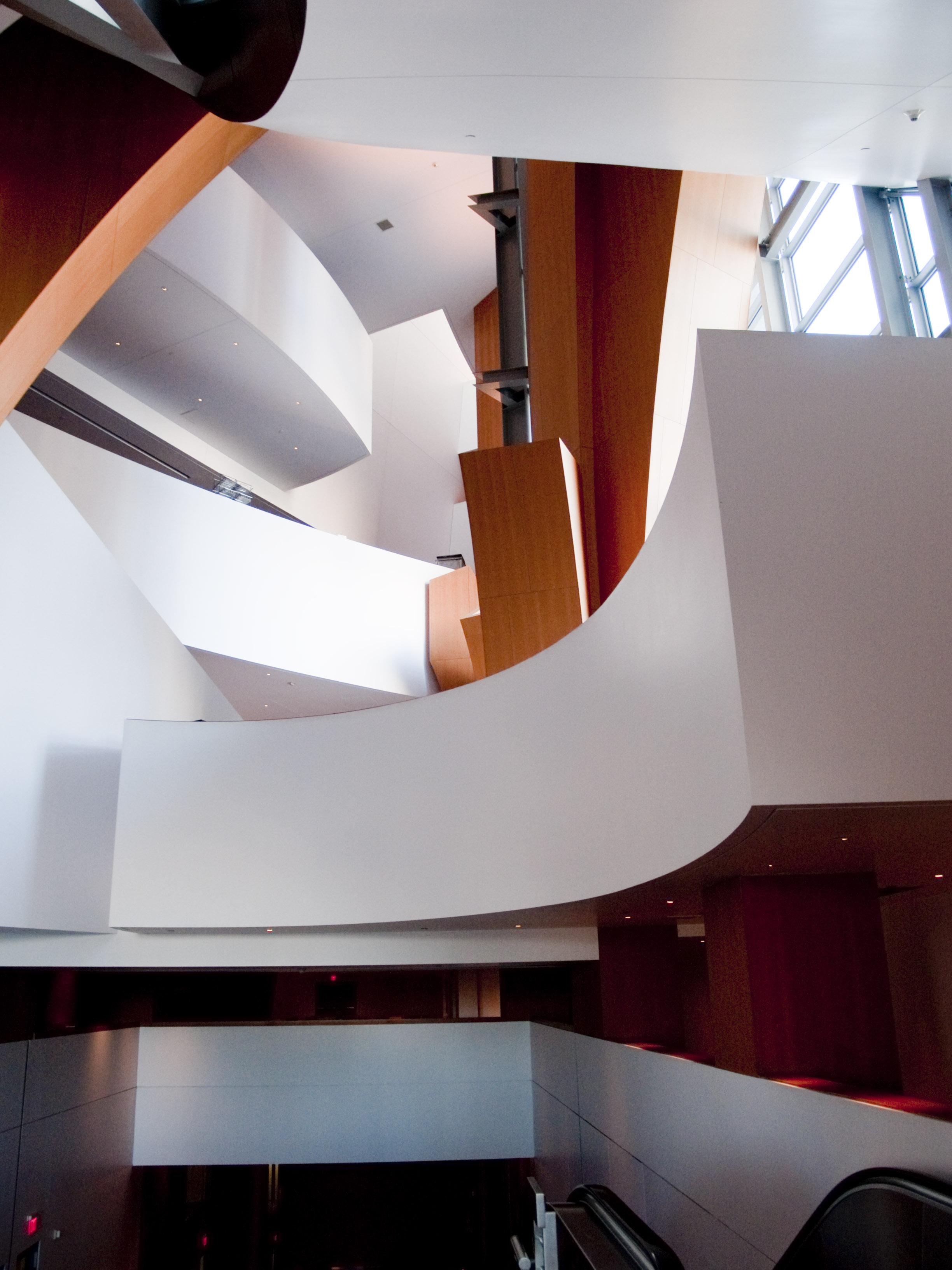 Archikey Com Buildings The Walt Disney Concert Hall