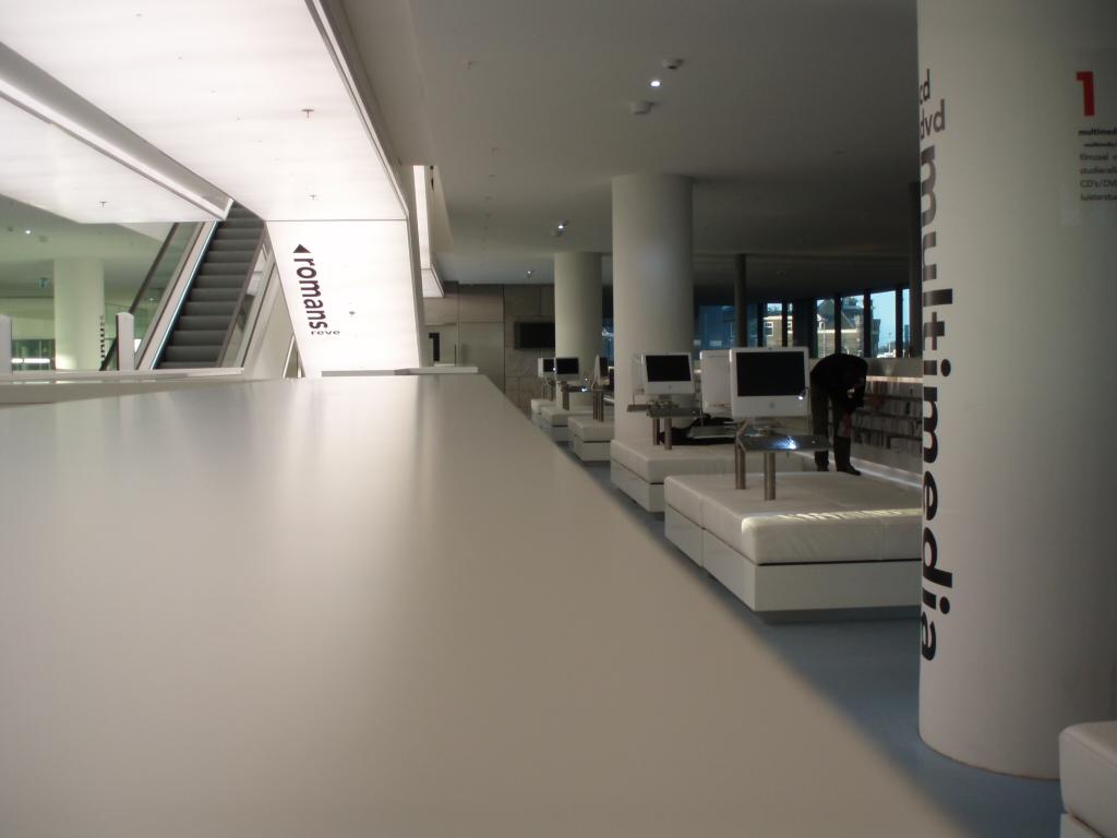 Buildings openbare bibliotheek van amsterdam for Bibliotheek amsterdam