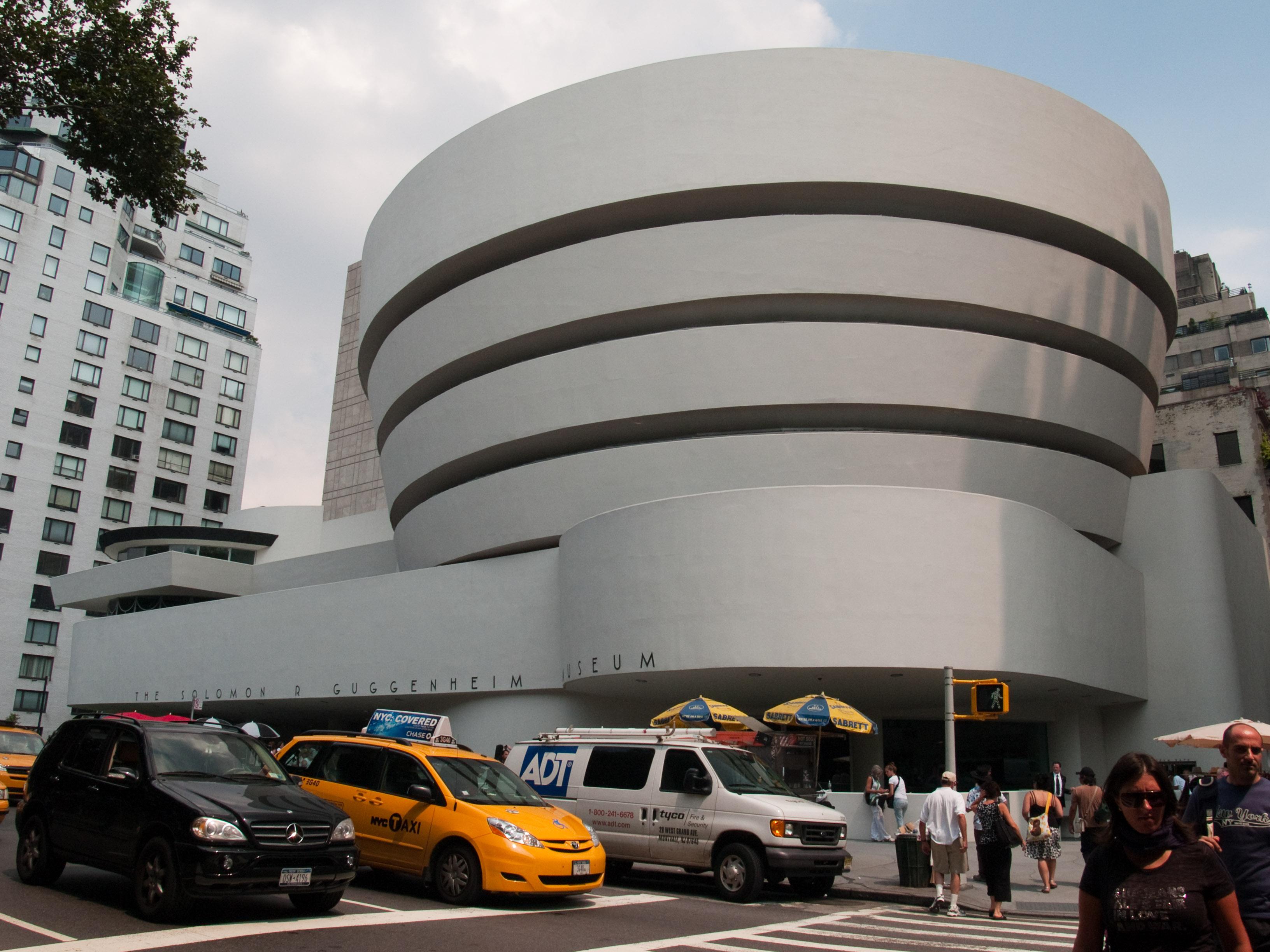 Archikey.com  Buildings  Solomon R. Guggenheim Museum
