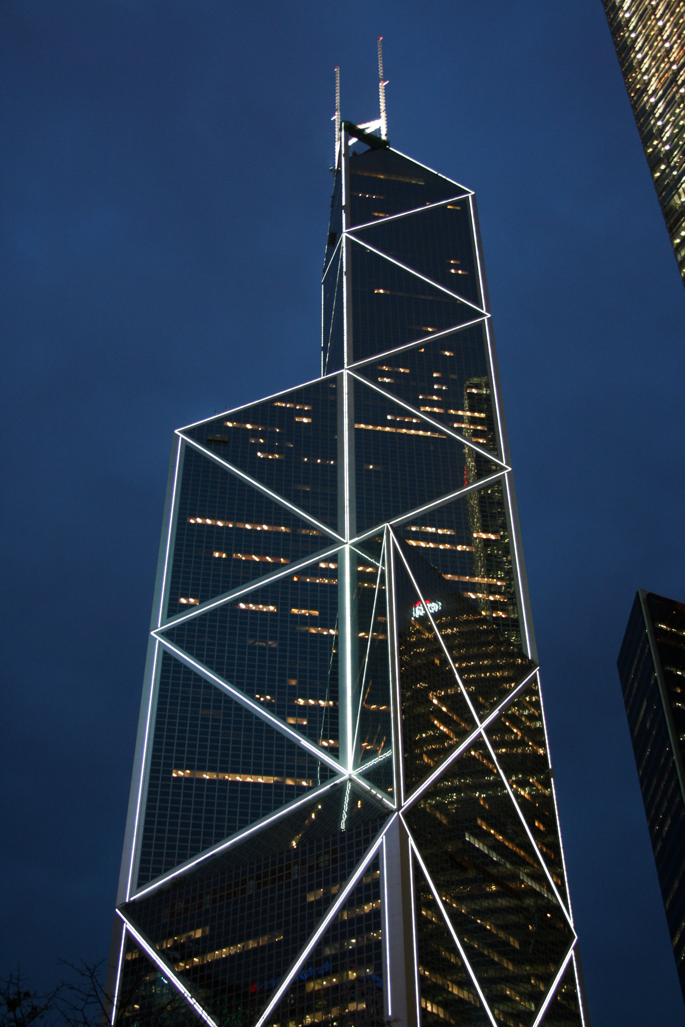 Buildings bank of china tower for Architect ltd