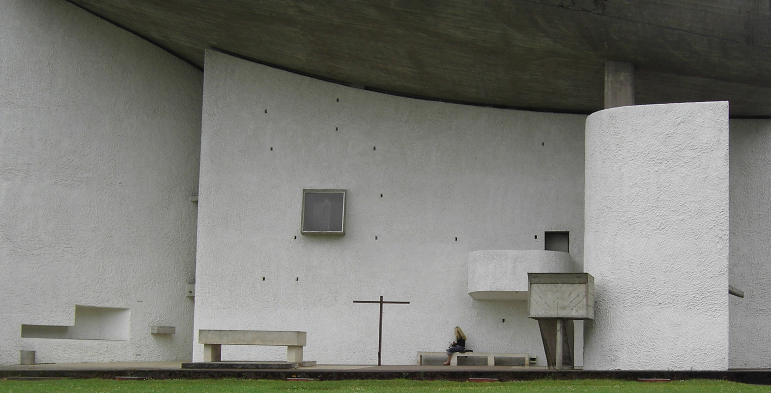 Archikey.com | Buildings | Notre Dame du Haut
